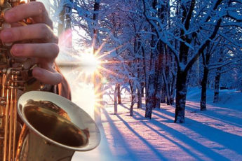 Картинки по запросу саксофон зима